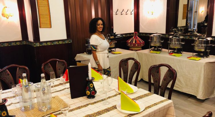 Addis Abeba Berlin Restaurant Innen