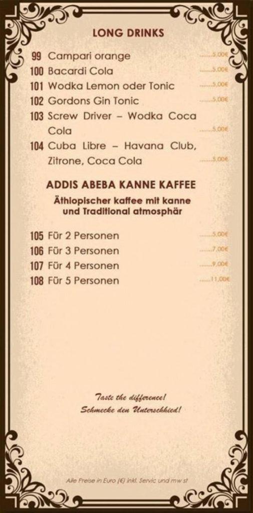 Äthiopischer Kaffee Berlin