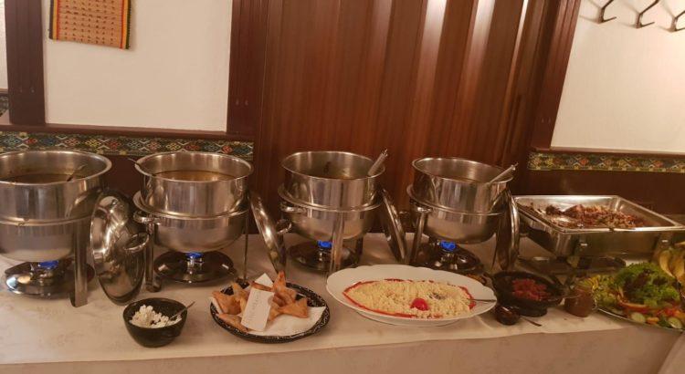 Buffet äthiopisches Restaurant Berlin