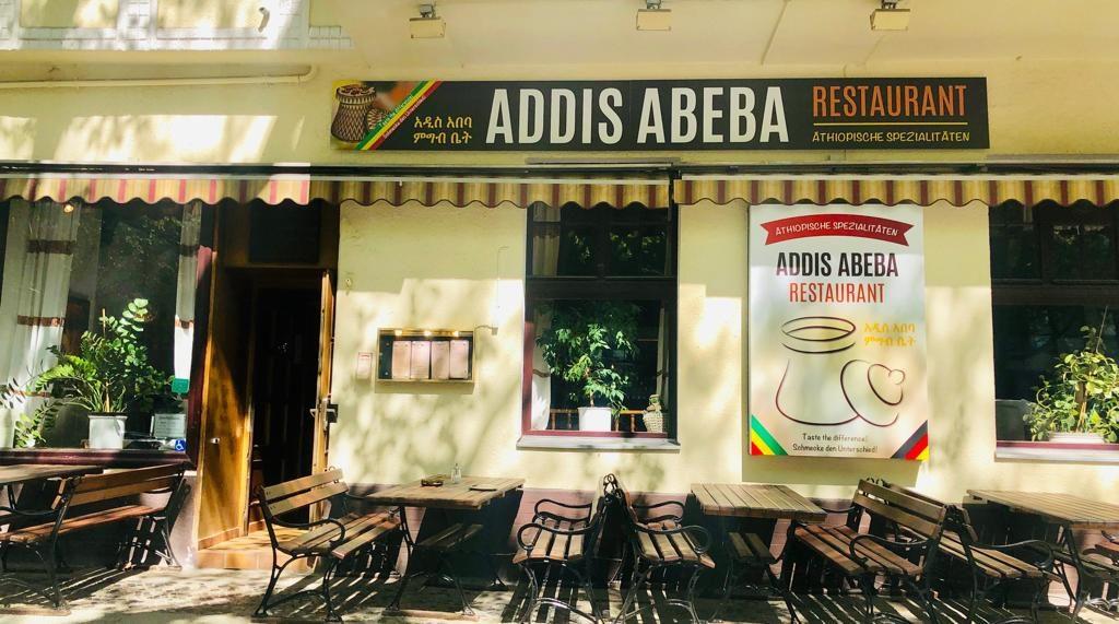 Äthiopisches Restaurant Addis Abeba von außen